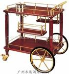 high quality wooden liquor trolley