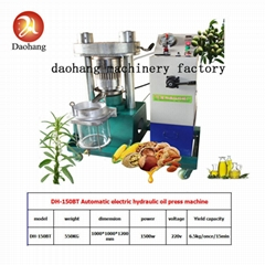 Electric Automatic Hydraulic Oil Press Machine