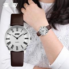Leather Analog quartz Watch Fashion Casual Simple Design Wristwatch