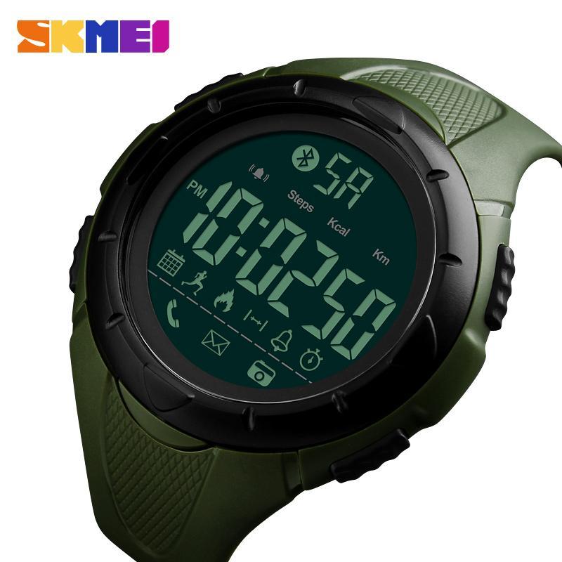 SKMEI Luxury Sport Digital Bluetooth Smart Watch 50m Waterproof unsex Wrist Watc 3