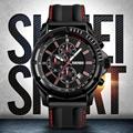 Men's Quartz and Analog Watch silica gel