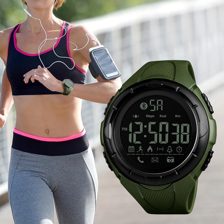 SKMEI Luxury Sport Digital Bluetooth Smart Watch 50m Waterproof unsex Wrist Watc 1