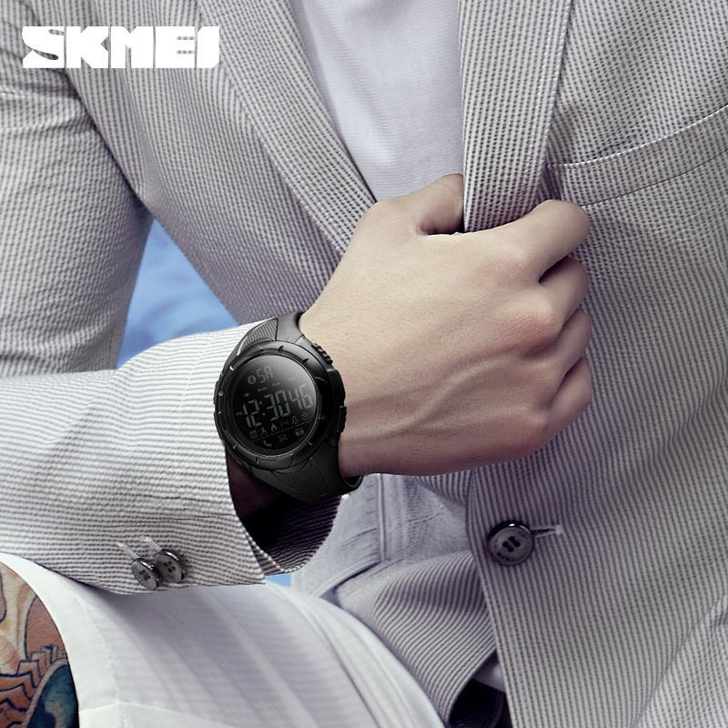 SKMEI Luxury Sport Digital Bluetooth Smart Watch 50m Waterproof unsex Wrist Watc 4
