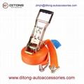 50MM Extra Long Ratchet Buckle Lashing Belt Ratchet Tie Down Straps