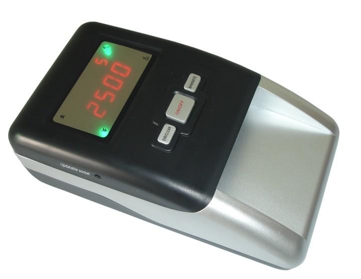 Euro Money Detector with blue LCD display 1