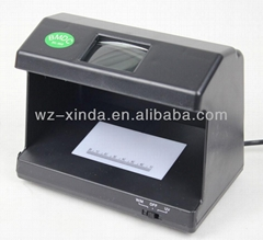 Fully electronic Mini UV light counterfeit money detector