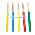 Copper core PVC insulated (BV) electric