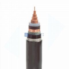 Cu Conductor XLPE Insulated Steel Tape Armoured PVC Sheathed Power Cable