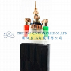 (4+1) Copper Conductor XLPE Insulated PVC Sheathed Electric Cable