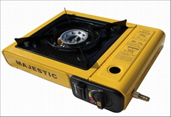 厂家直销户外燃气烧烤炉便携式卡式炉双用