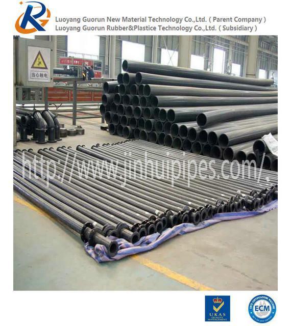 Black Ultra High Molecular Weight  Polyethylene  Pipe 1