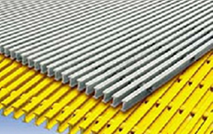 High-Loading FRP Pultruded Bar Grating for Construction