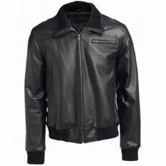皮夹克男士时尚100%名副其实的皮革ML-2003
