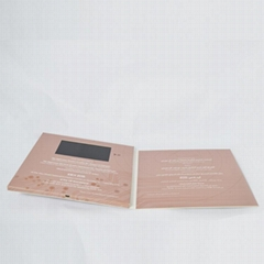 Chinese supplier 5 inch video brochure
