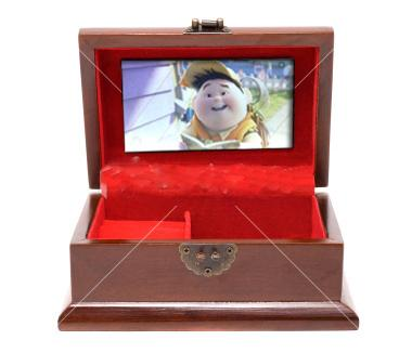 LCD TFT video 5 inch video box 4