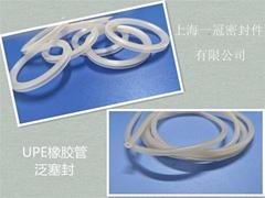进口UPE聚乙烯外端面橡胶管密封圈