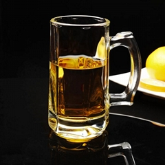 Hot Sale LXZB15 Pint Glass Beer Cup with handle  for drinking from Anhui Langxu