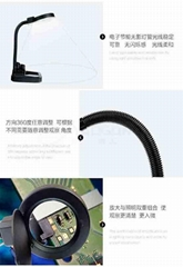 10x HD LED Lamp Desktop