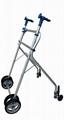 Aluminum Walker, Lightweight Folding
