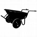 Power Driving Kit (wheelbarrow, weeding machine, coffee bike, tractor, etc.)