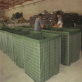 hot dipped galvanized MIL3 Hesco flood
