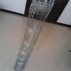 Fixed Knot Field WEAVE  Fence For