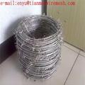 12 gauge galvanized Barbed wire fence