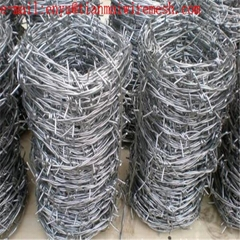double twist barbed wire for protecting mesh