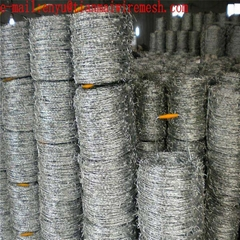 barbed wire roll price double twist barbed wire coil barded wire fence