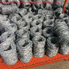 Electro Galvanized Barbed Wire Mesh