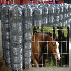 fixed knot woven wire grassland mesh fence for cattle and sheep