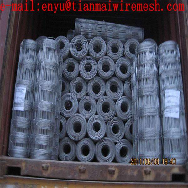 hot dipped galvanized Cattle Fence Filed Fence Grassland Wire Mesh Cattle Fence  2