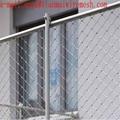 Ferrule cable mesh steel woven wire zoo
