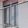Ferrule cable mesh steel woven wire zoo netting eco-friendly stainless steel rop