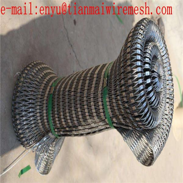 316 Stainless Steel Wire Rope Hand Woven Mesh 4