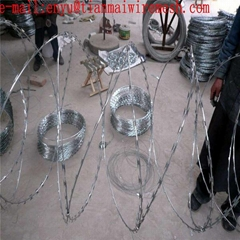 WHOLESALE HOT DIPPED RAZOR BARBED WIRE ELECTRIC RAZOR BARBED WIRE MESH