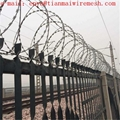 fencing airport prison fence concertina fence wire mesh