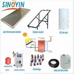 Split Solar Water Heater System