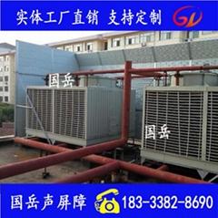 冷却塔隔音降噪声障墙