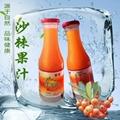 沙棘汁沙棘果汁健康饮品饮料