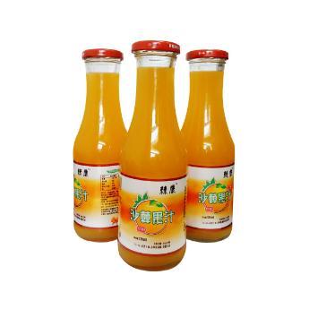 沙棘汁沙棘果汁健康饮品饮料 4