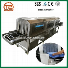 Food Industry Plastic Crate Pallet Tray Basket Washer Washing Machine