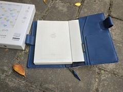 商务布料笔记平装本记事本工厂定制LOGO