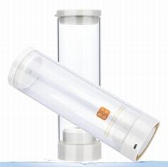 Hydrogen Rich Water Generator  Healthy smart cup Pure H2 Rich Hydrogen Golden