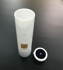 Wireless transmission  Hydrogen Rich Water Generator Healthy smart cup Black