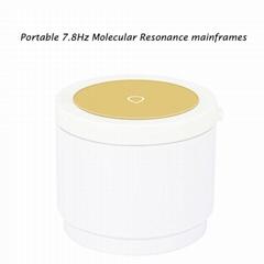 Portable 7.8Hz Molecular Resonance mainframes USB Healthy smart Golden