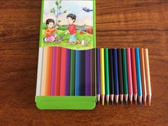 Low price sharpened kids drawing colored pencils