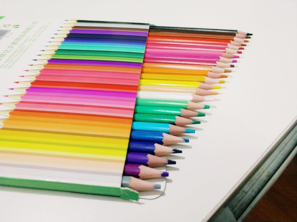 Wooden-Free Plastic 12 Color 7 Inch Pencil 1