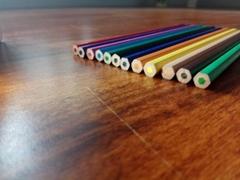 仿木环保12色塑料彩色铅笔