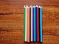 Wooden-Free Plastic 12Color 7Inch Pencil Color 2